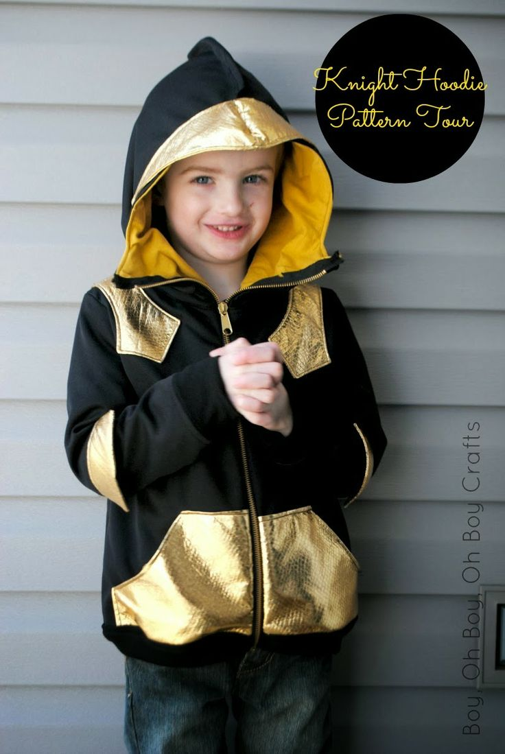 Knight Hoodie Pattern by Charming Doodle Review