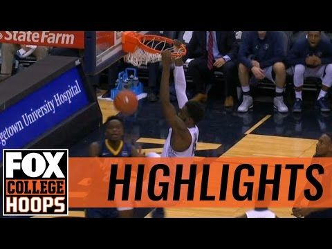 Georgetown defeats UNC Greensboro with big game from Govan | 2016 COLLEGE BASKETBALL HIGHLIGHTS