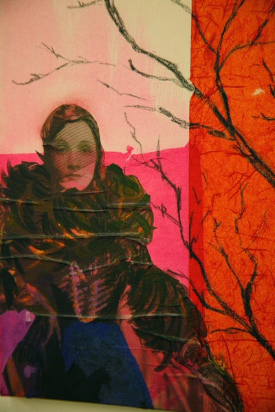 the darklady, collage