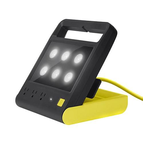 Quirky Power Shell Folding Work Light