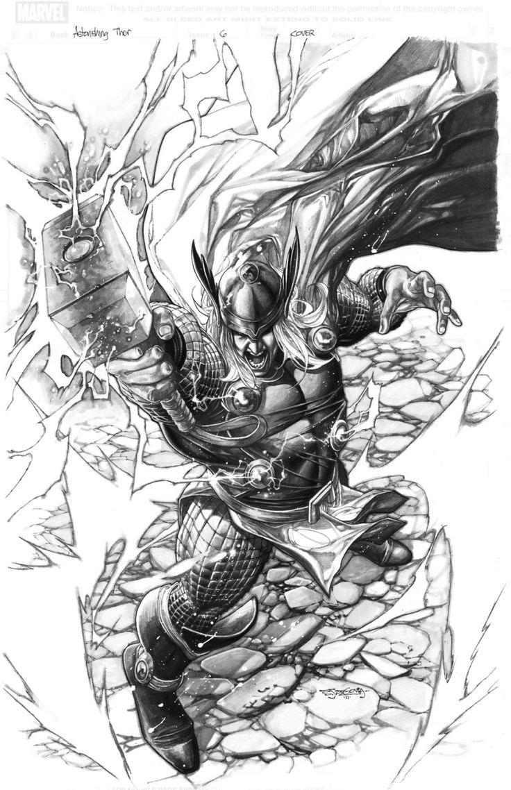 Thor deviant saga 1 cover by sjsegovia.deviantart.com