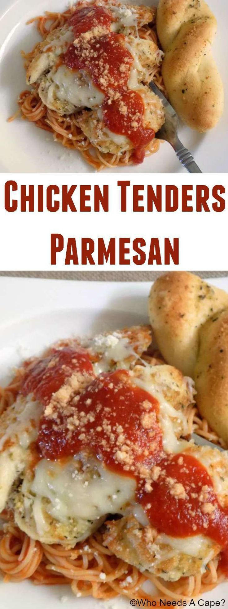 Chicken Tenders Parmesan is an easy dinner that the entire family will love. Ragu® Sauce helps get this delicious dish on the table fast.