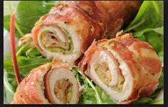 Tra le ricette estive facili e veloci oggi vi proponiamo quella degli involtini di pollo con philadelphia e pancetta un goloso piatto