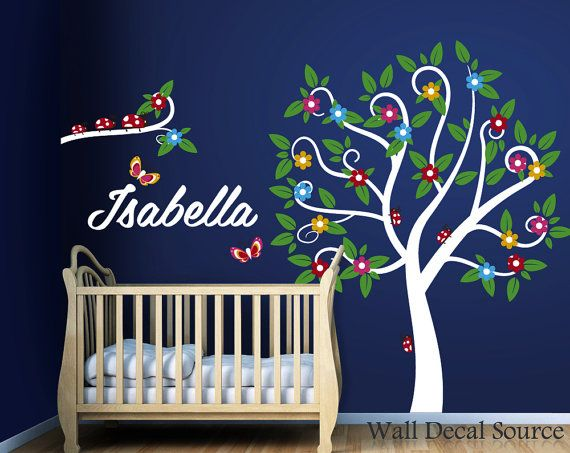 Best Cute Tree Wall Decals Images On Pinterest Tree Wall - Vinyl decals for walls etsy