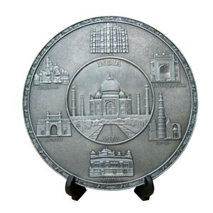 Plate - India Monuments.#mothersdaysale