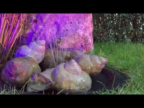 Bauanleitung eines Quellsteinbrunnen -Wasserspiel - YouTube