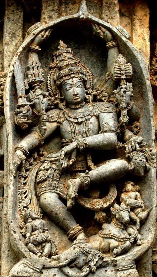Gajasamahara murthy - Kedareshwara Temple , Halebeedu — Hassan, Karnataka  photo by Swaminathan Natarajan