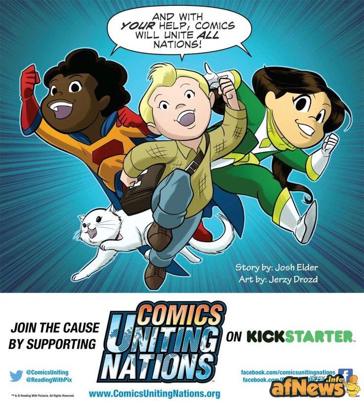 Le Nazioni Unite per il progetto COMICS UNITING NATIONS - http://www.afnews.info/wordpress/2015/05/05/le-nazioni-unite-per-il-progetto-comics-uniting-nations/