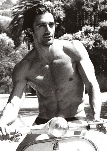 "Jane Porter says: ""Gilles Marini was the inspiration behind my darkly handsome, and very sexual, Sicilian hero, Vittorio d'Severano in my August '11 HP, A Dark Sicilian Secret"" Oh he is definitely very dark, handsome and sexy."
