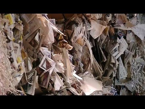 How Do They Recycle Paper? - YouTube