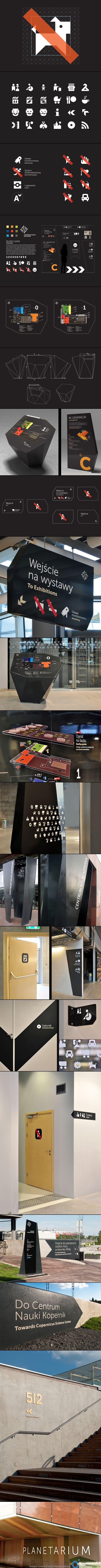 Copernicus Science Center - Visual information system