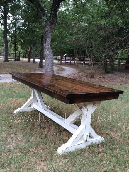Best 25 Rustic Farm Table Ideas On Pinterest