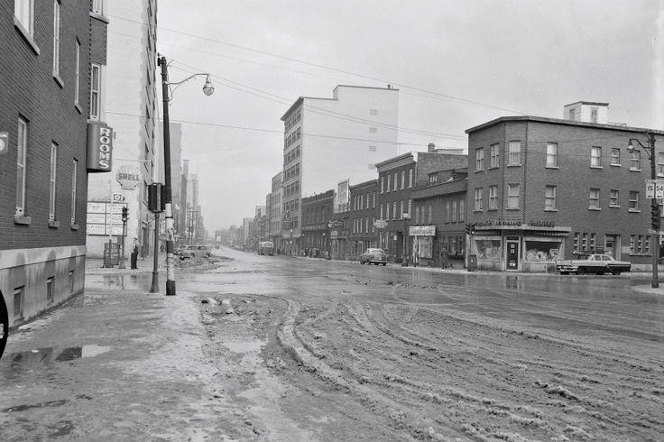 Le boulevard Charest en 1956