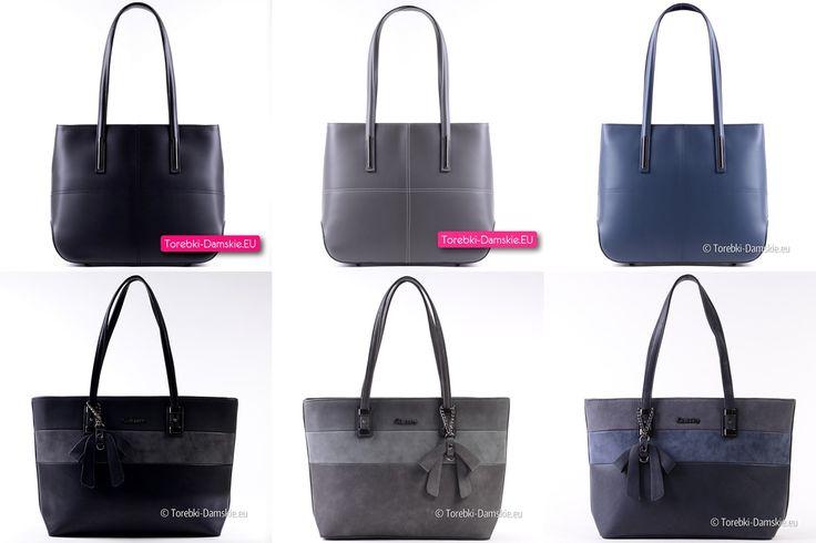 Pojemne, praktyczne i stylowe damskie torby z najnowszej kolekcji. Aktualnie w katalogu ponad 200 modeli Zobacz wszystkie tutaj http://torebki-damskie.eu/6-duze-miejskie
