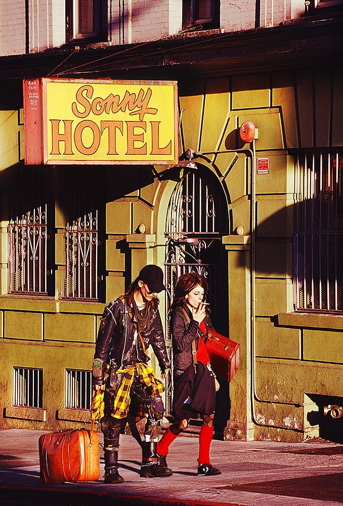 Sonny Hotel In The Tenderloin,  San Francisco By Mitchell Funk   www.mitchellfunk.com