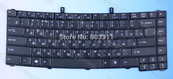 Brand new replacement Laptop keyboard for acer  EXTENSA 4220 4230  4420 4630  5220 5620 RUSSIAN LAYOUT