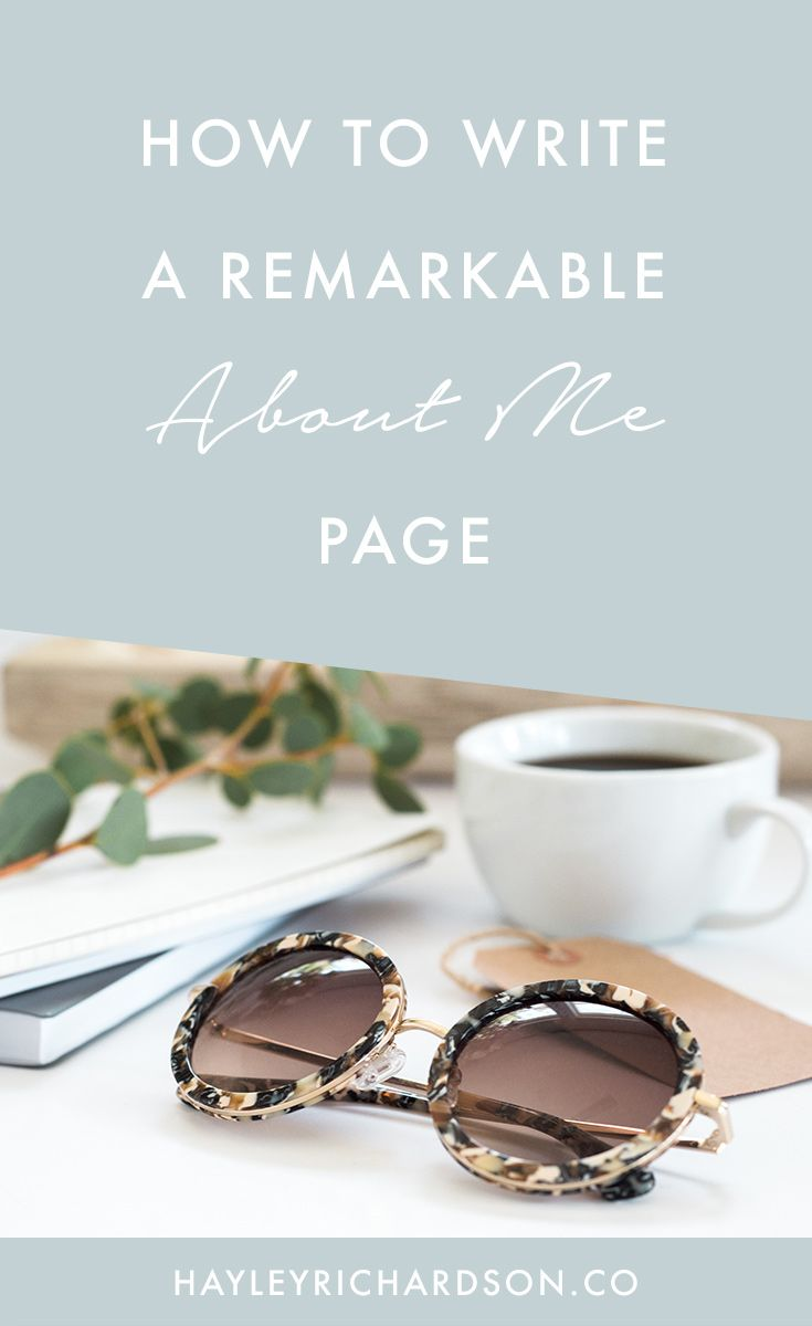 Want to know how to write a remarkable About Me page? This epic post shares the secret ingredients that the best About Me pages use. Click through to find out how.