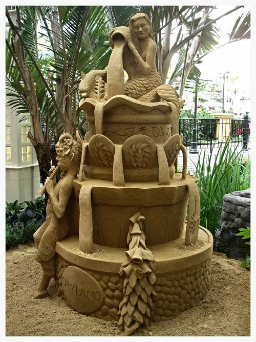Fountain Sand Sculpture