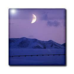 """Alaska, Brooks Range, Moon, Trans-Alaskan Pipeline - US02 PSO0507 - Paul Souders - 12 Inch Ceramic Tile by 3dRose. $22.99. Dimensions: 12"""" H x 12"""" W x 1/4"""" D. Construction grade. Floor installation not recommended.. Image applied to the top surface. Clean with mild detergent. High gloss finish. Alaska, Brooks Range, Moon, Trans-Alaskan Pipeline - US02 PSO0507 - Paul Souders Tile is great for a backsplash, countertop or as an accent. This commercial quality cons..."""