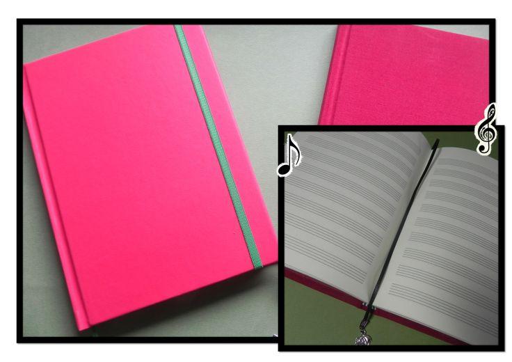 Cuaderno pentagramado