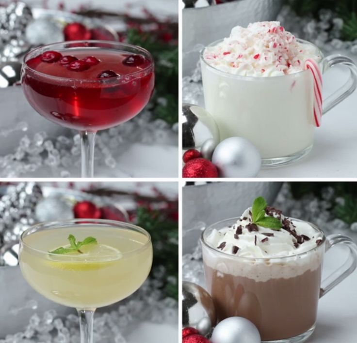 Peppermint Vodka 4 Ways