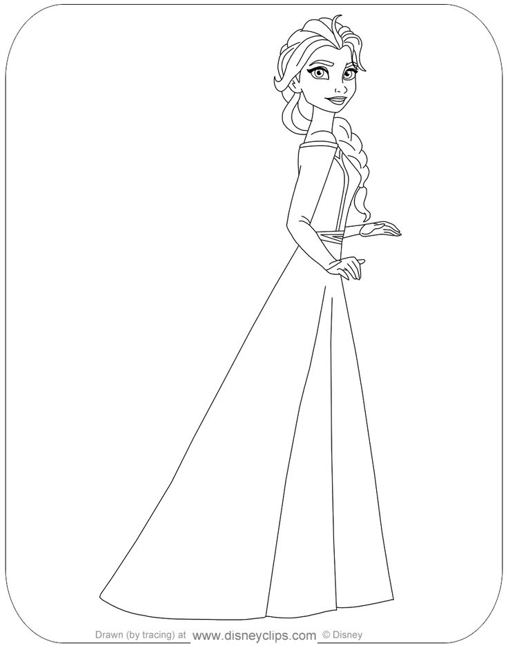 coloring pages of frozen 2 - Google Search in 2020 ...