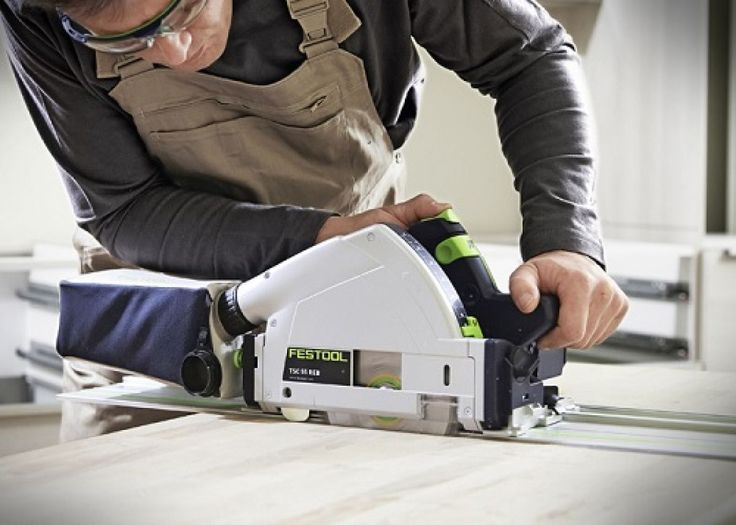 Festool Plunge Saw TSC55 in action