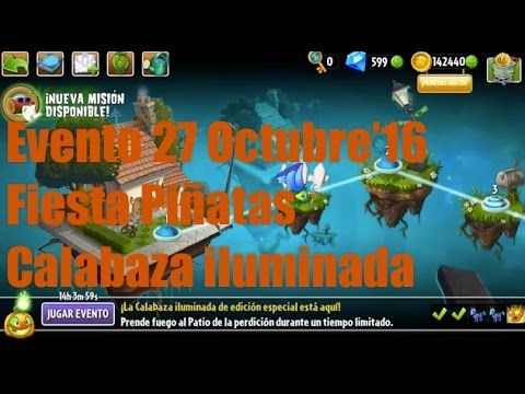 Plants vs Zombies 2 - Evento/Plantas Edición Especial - 27 Octubre'16 - ...
