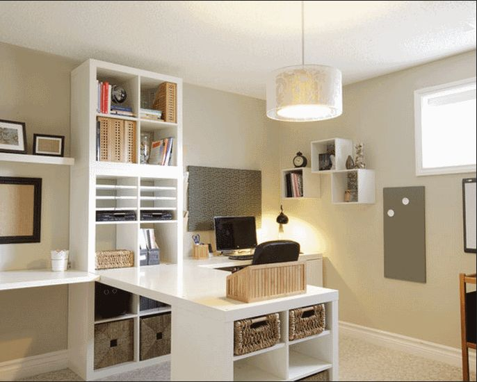 Wonderful Home Office Interior Design