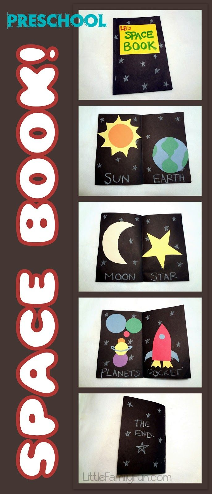 To start off our Space-Theme  for the week, LB and I made a space book to learn about some of the things that are in space.     Su...