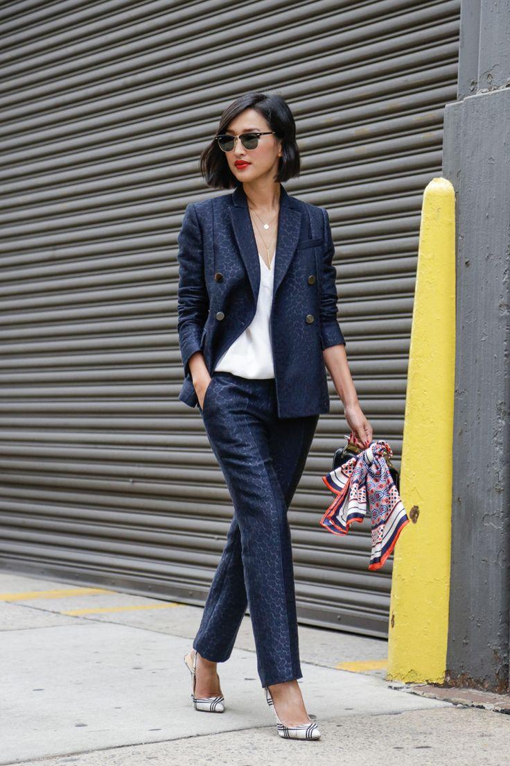 Street Style, New York: 20 stunning snaps captured on the last day of NYFW // Nicole Warne