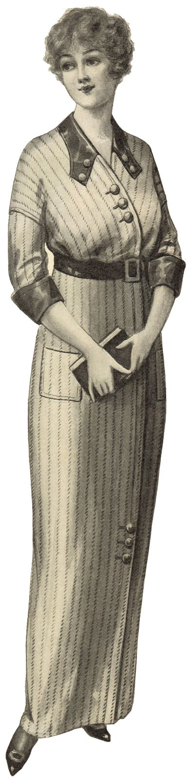 Knick of Time: Antique Graphics Wednesday - 1900's Women's Fashion