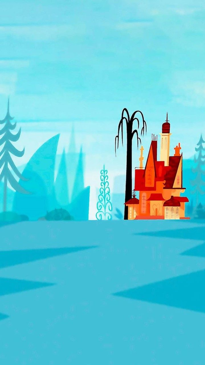 Pin By Laura Perin On Fondos Ps Cartoon Wallpaper Foster Home For Imaginary Friends Scenery Wallpaper