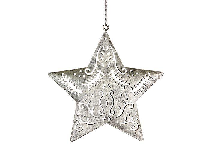 Papaya christmas tree decoration celestial filigree