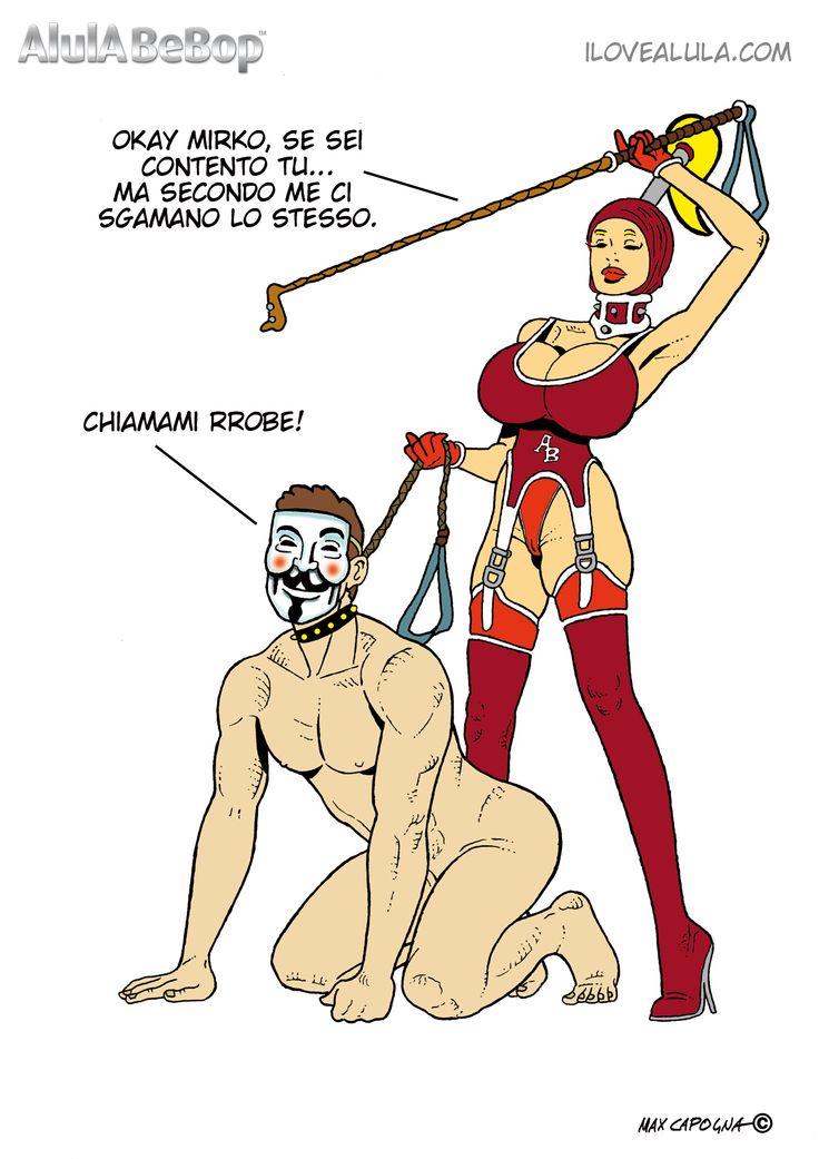 AlulA BeBop the Fetish Big Boob Big Boobs - Comics - Fumetti - Fetish.