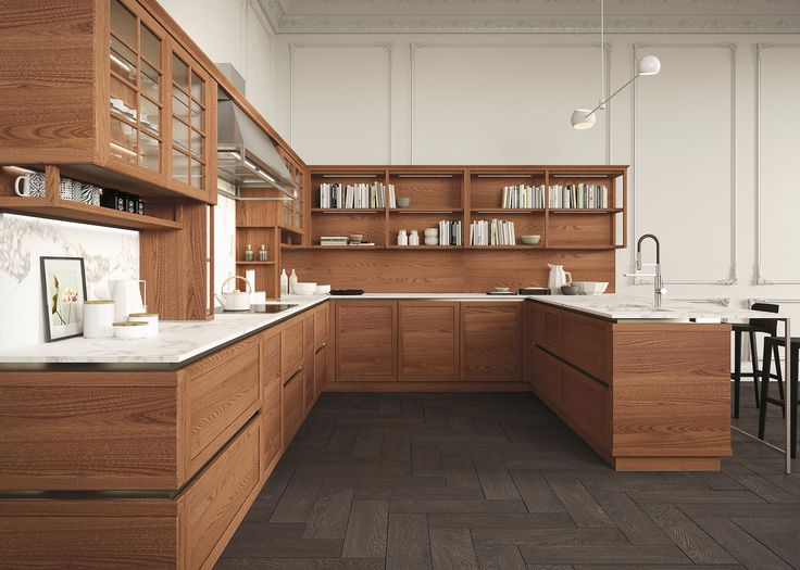 HERITAGEu0027s Exclusive Elm Wood Framed Kitchen Door Cabinets Are A Clever  Combination Of Traditional Design And Fine Modern Cabinetry Techniques #Snu2026  | ...