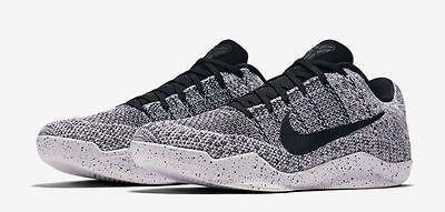 Nike Kobe 11 XI Elite Low Oreo Beethoven Size 11 Grey White Black  822675-100