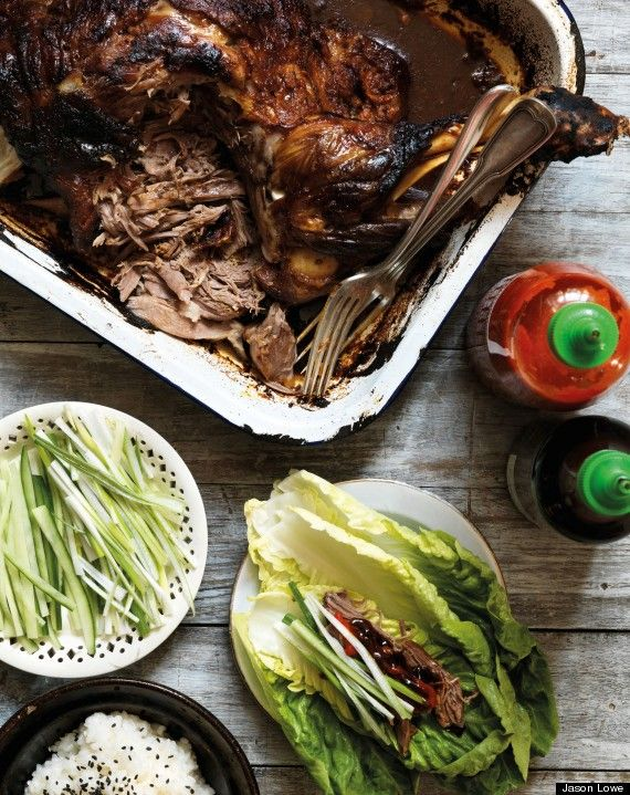 Gizzie Irskine's Korean roast lamb shoulder