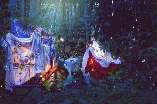 lets make hammocks in the trees