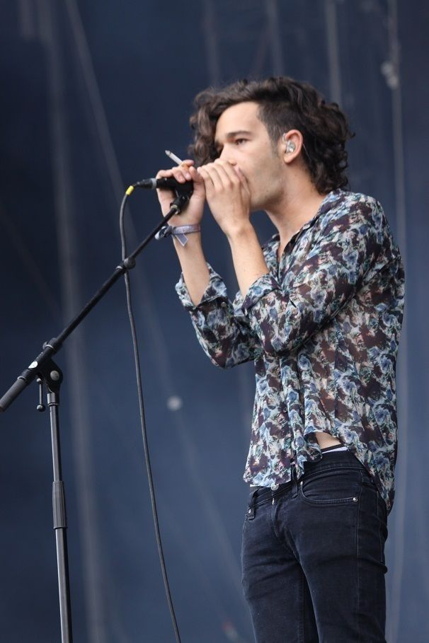 The 1975.. His hair is perfection