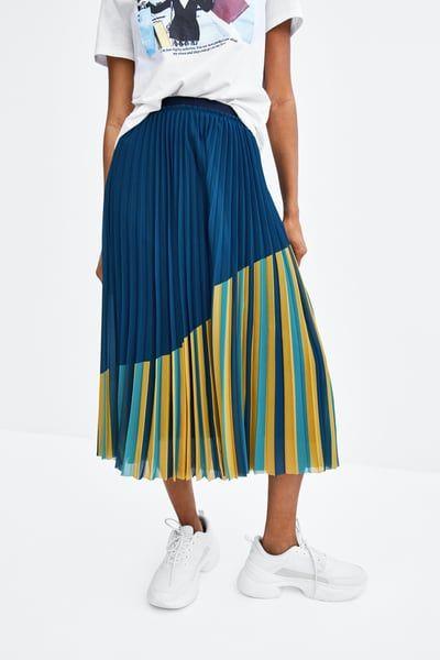 0b653ddae Multicoloured pleated skirt | Fashion/Women's/Clothing/Bottoms ...