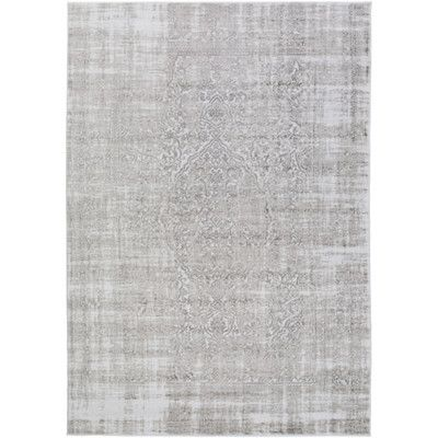 Ismay Oriental Ivory Gray Area Rug Traditional Area Rugs