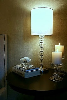 Here is a specific technique on how to get  a faux linen finish with paint.