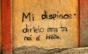 Scritte sui muri.