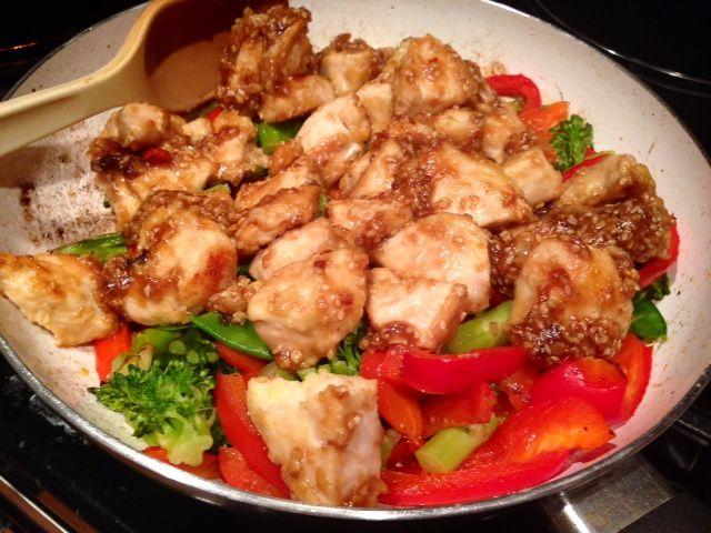 Best easy sesame chicken recipe
