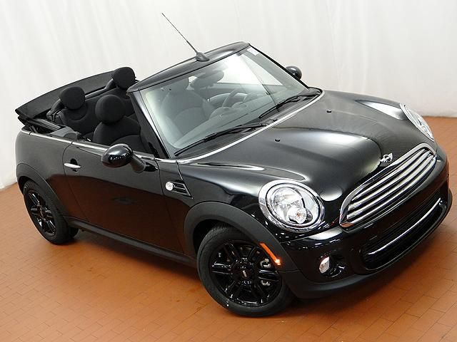 2014 Mini Cooper Base Base 2dr Convertible Convertible 2 Doors Black for sale in Naperville, IL Source: http://www.usedcarsgroup.com/used-mini-for-sale-in-naperville-il