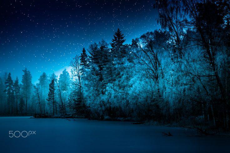 Siirlahti at night - null