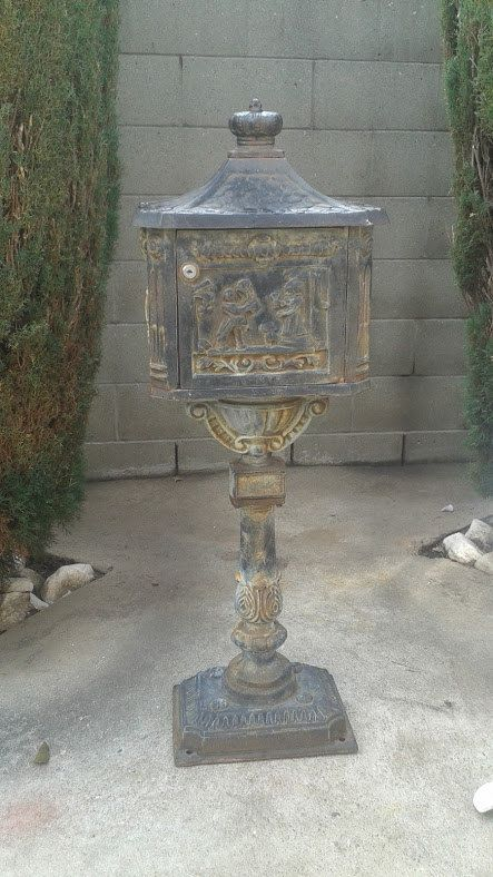 1000 Images About Iron Mailboxes On Pinterest Wall