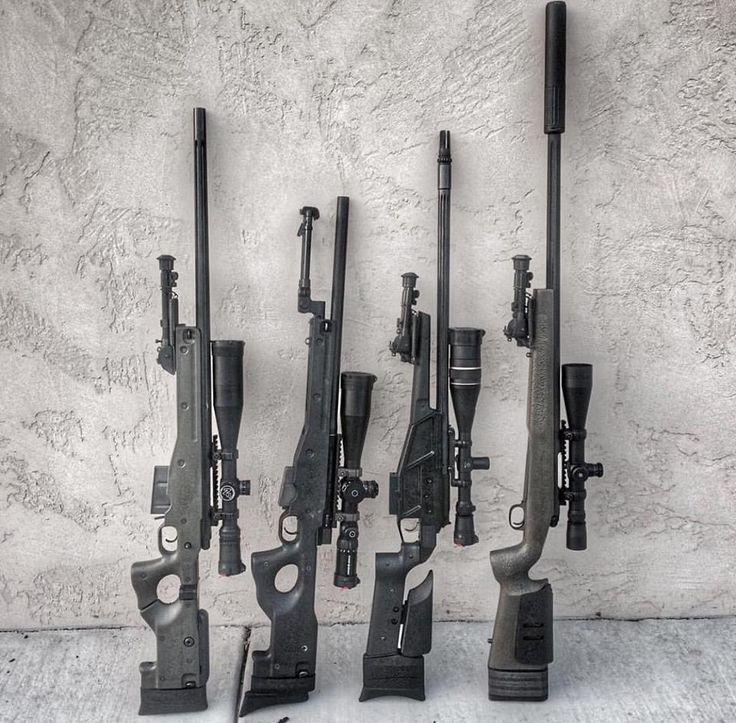 Lawrence has that 'never too many rifles' philosophy,