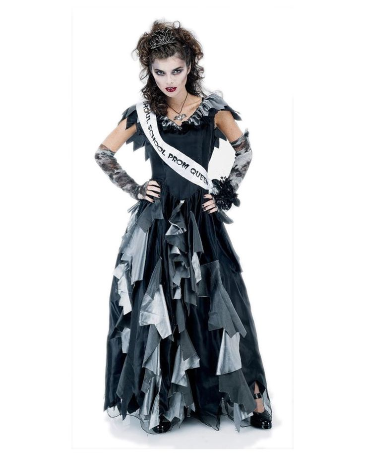 This is the Zombie Prom Queen Adult Costume , Large at a cheap price. This  costume which is \u0027Zombie Prom Queen Adult Costume , Large\u0027 consists of the.
